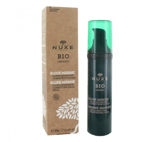 Nuxe bio org. fluido hidratante corrector alga