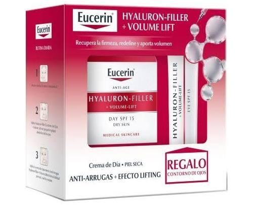 Eucerin hyaluron filler volume lift - crema de dia fps15 piel seca (50 ml)