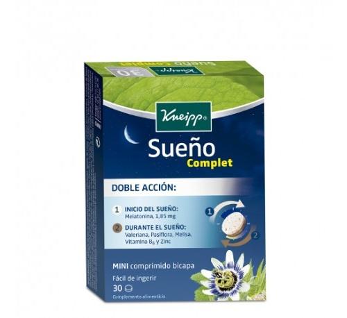 Kneipp sueño complet (30 comprimidos)