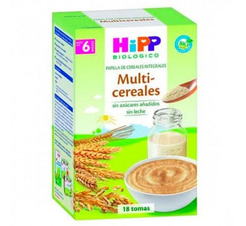 Hipp biologico multicereales 400gr
