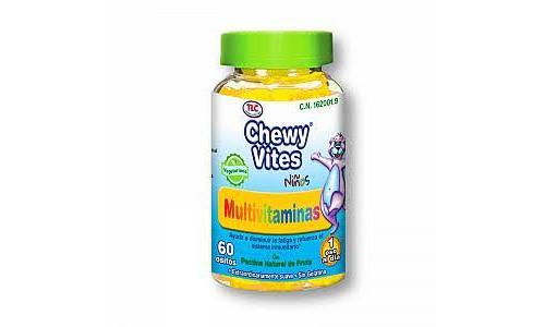 Chewy vites plus multivitamina (60 u bote)