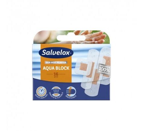 Salvelox aqua block - aposito adhesivo (16 apositos)