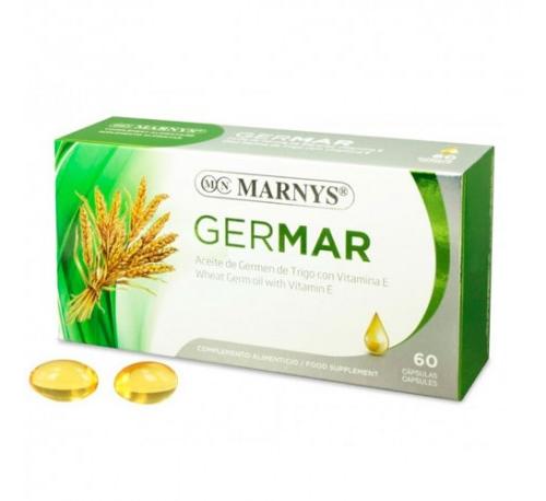 Germen de trigo 60 perlas germar