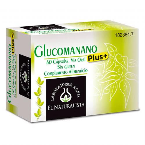 Glucomanano plus el naturalista (60 caps)
