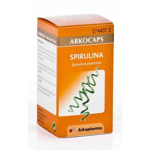 Spirulina arkopharma (45 capsulas)