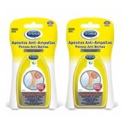 Scholl anti-ampollas apositos invisibles grandes (5 u)