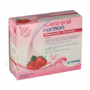 Suero oral normon pack (fresa 250 ml 2 u)