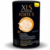 Xls nutrition forte 5 quemagrasas batido sustitutivo Vainilla (1 envase 400 g)