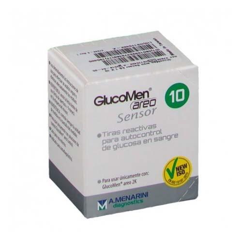 Tiras reactivas glucemia - glucomen areo sensor (10 tiras reactivas)