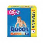 Pañal infantil - dodot activity pack (semanal t- 4  9 -15 kg 30 u)
